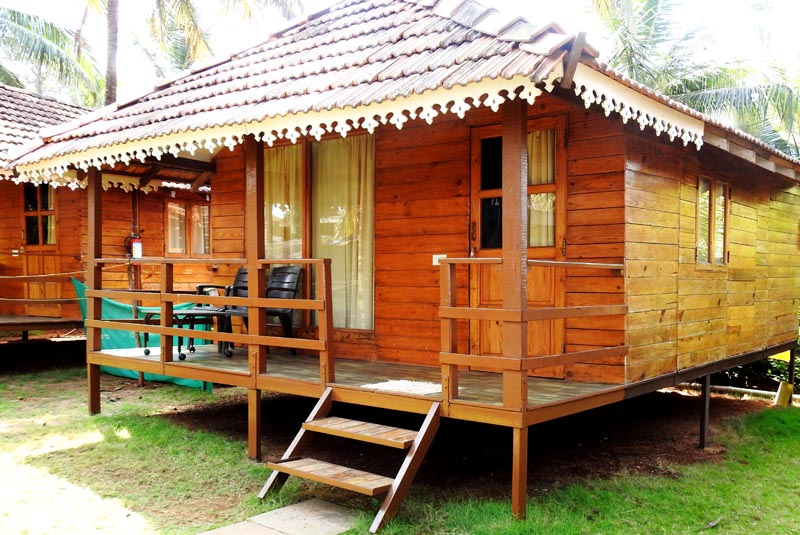 beach cottages in goa